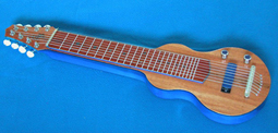 New S8 GeorgeBoards 2015 Blue Lagoon Hawaiian Lap Steel #001