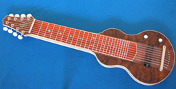 S8 Lap Steel Guitar Marbled Walnut Awesome! #1