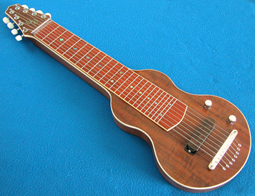 NEW S8 Lap Steel GeorgeBoard Royal Walnut Deluxe
