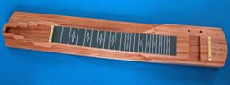 S8 Console Lap Steel Guitar DIY KIT Mahogany with Finish 499 24.5 scale