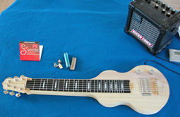 GeorgeBoards NEW S6 Lap Steel KIT Made in USA Fully Assembled perfect for DIY.