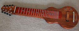 NEW S8 GeorgeBoards Lap Steel 22.5 KOA Flamed #002