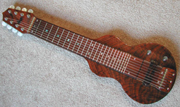S8 Lap Steel GeorgeBoards Personal Super 12 Star Walnut