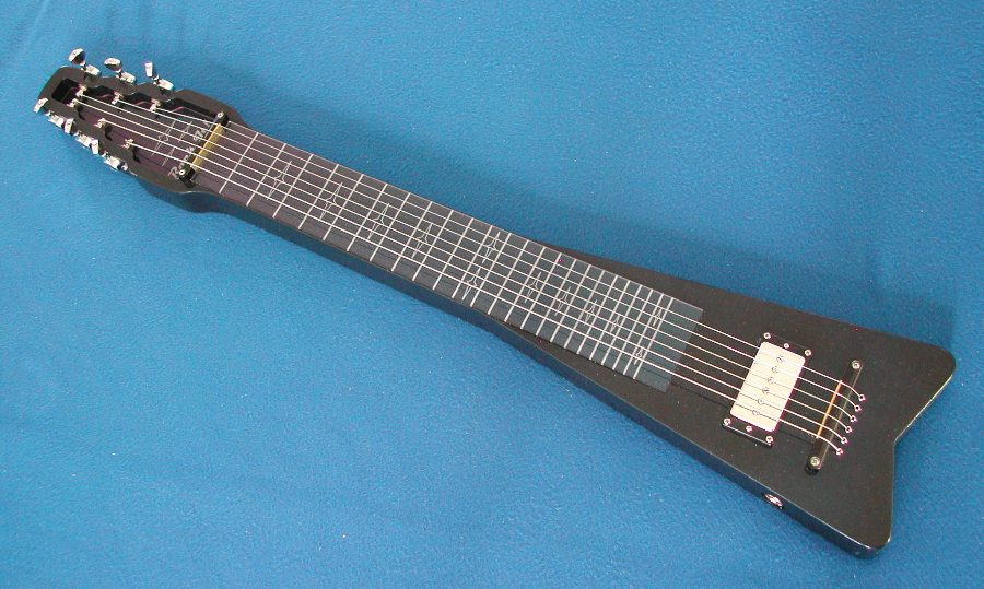 New color shifting Rock It! lap steel s6