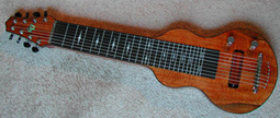 S8 Lap Flamed KOA Top on Mahogany GeorgeBoard NEW
