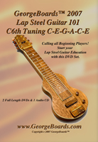 GeorgeBoards Lap Steel 101 DVD