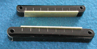 8 string nut and bridge set